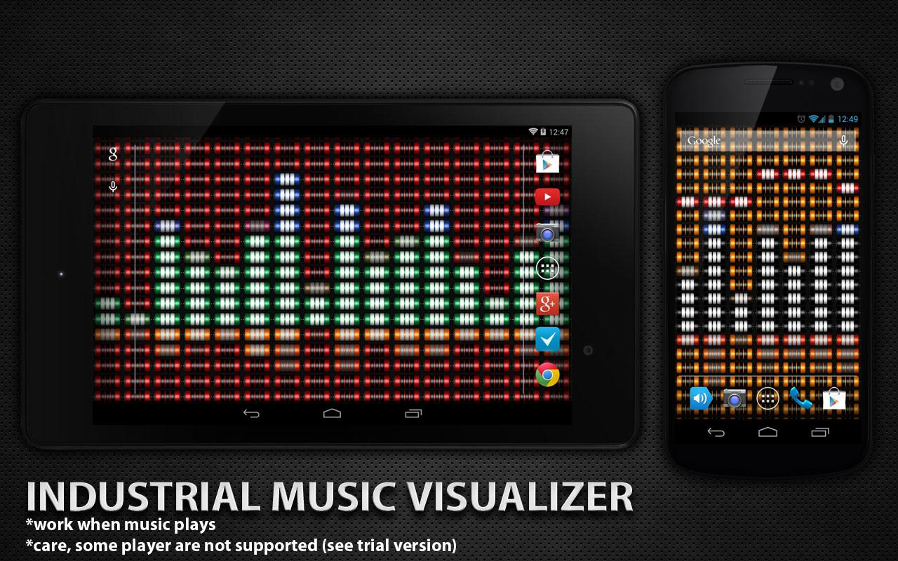 industrial music visualizer android apps on google play