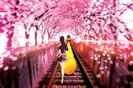 Subway Sakura Dash