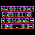 GO Keyboard Rainbow Glow Theme icon