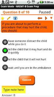 EMT-Basic Exam Preparation - screenshot thumbnail