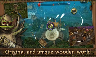 Screenshot of First Wood War