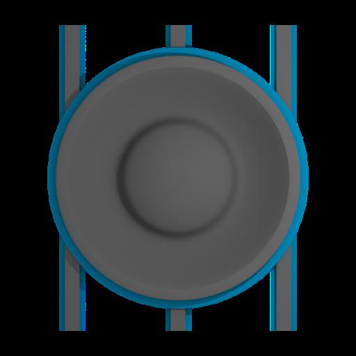 Volume Wheel Control Widget
