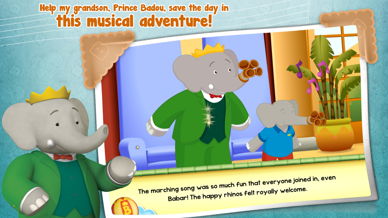 Babar & Badou's Marching Band- screenshot