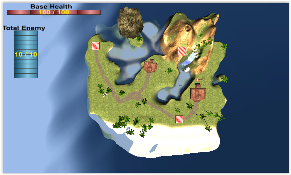 PROTECT YOUR ISLAND (DEFANCE)- screenshot