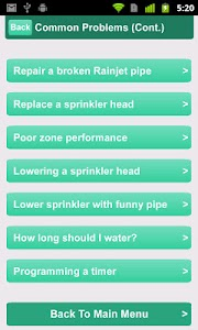 Sprinklers screenshot 2
