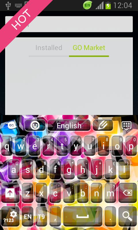 Keyboard Color Chooser - screenshot