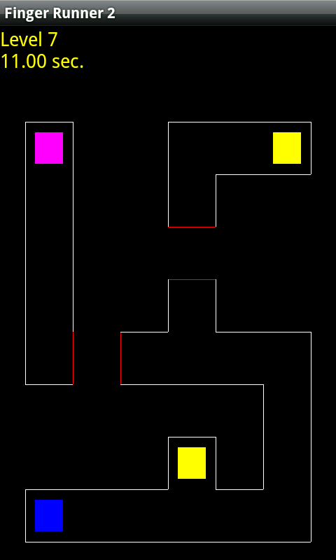 Finger Runner 2- screenshot