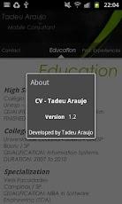 Curriculum Vitae-Tadeu Araujo