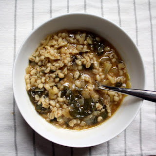 Barley Soup al Verde