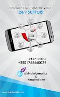 Screenshot of Simple Mobile Dialer