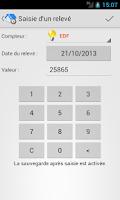 Screenshot of Relevés De Compteurs Full