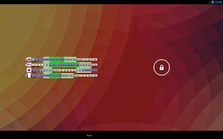 Screenshot of World Clock Widget (Trial)