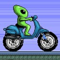 Alien Space Moto - Racing Game icon
