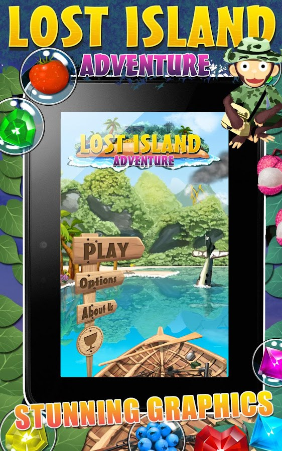 Lost Island Adventure- screenshot