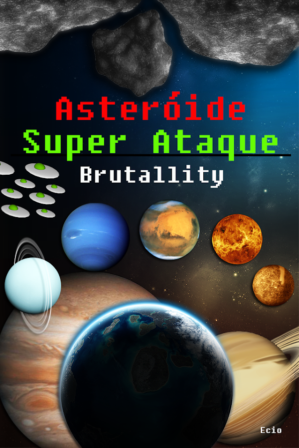 Asteroide Super Attack Free: captura de tela
