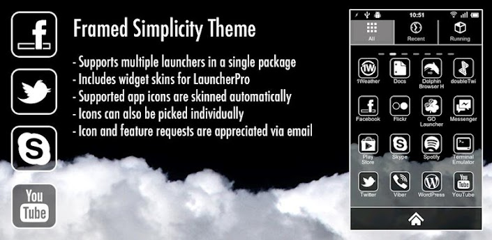 Framed Simplicity Theme v1.3