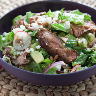 Chipotle Steak Salad with Avocado & Toasted Pepitas Recipe