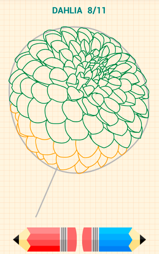How to draw flowers android apps on google play for Step by step instructions on how to draw a flower