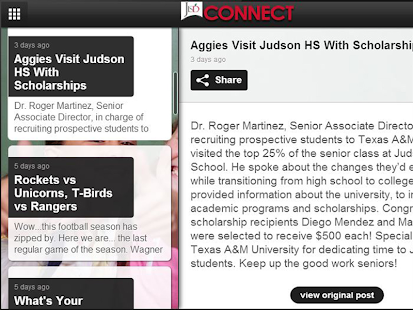 Judson ISD Connect!- screenshot thumbnail