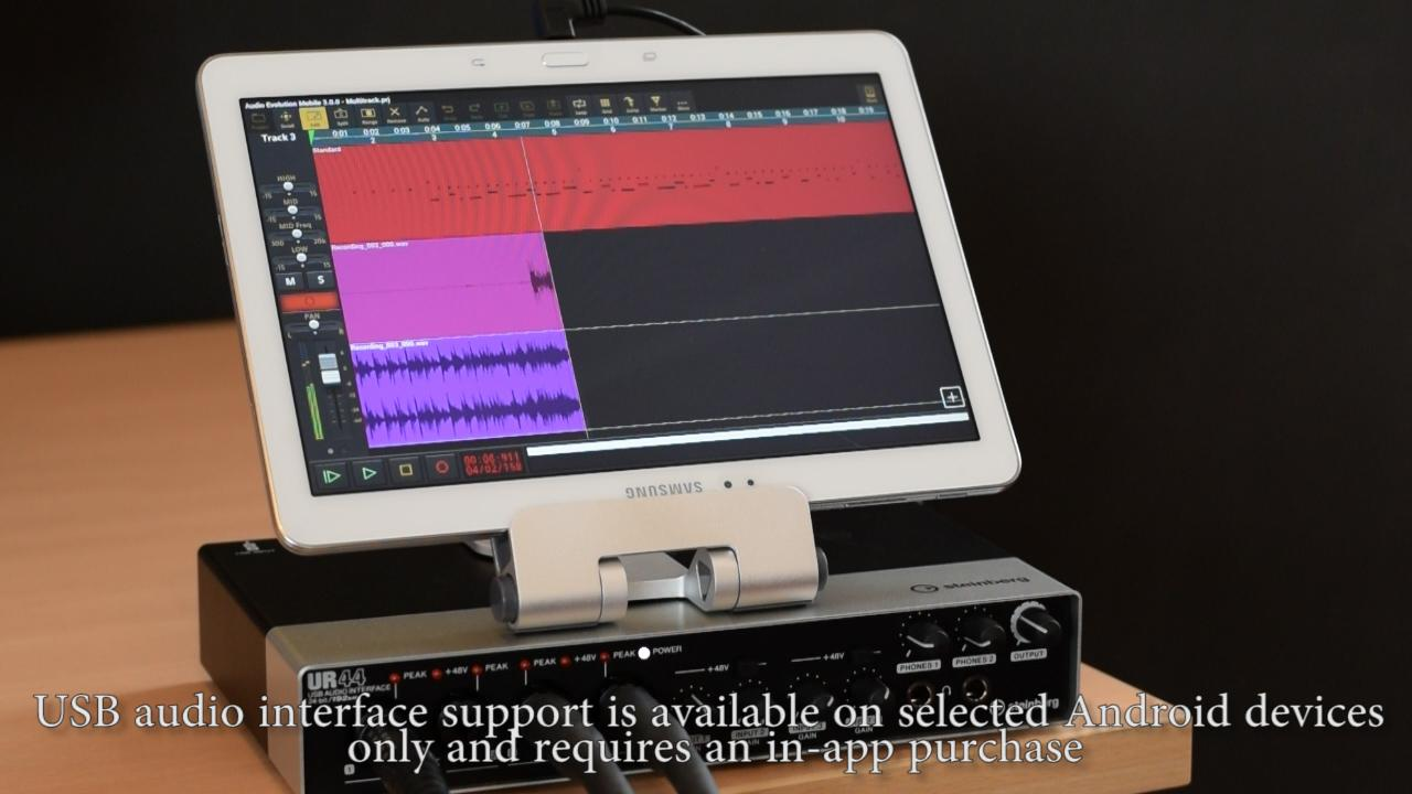 Audio Evolution Mobile Studio: captura de pantalla