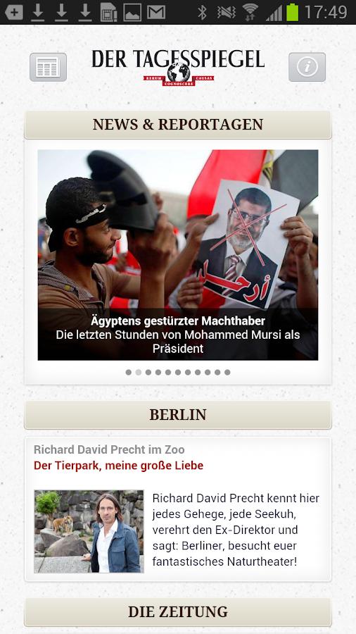 Tagesspiegel Online Berlin