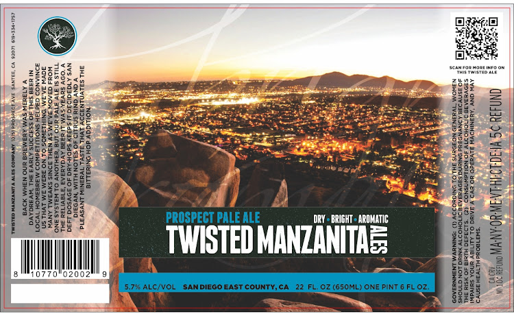 Logo of Twisted Manzanita Prospect Pale Ale