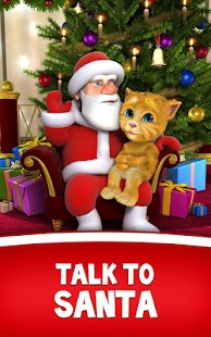 Talking Santa meets Ginger +- screenshot thumbnail