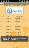 Screenshot of Lil Kicks - Baby Kick Counter
