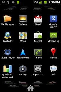 Launcher 2 for QHD - screenshot thumbnail