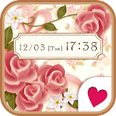 Cute wallpaper★Vintage rose