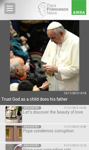 Papa Francesco Smartphone