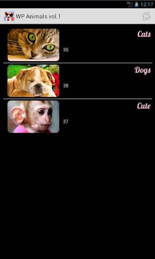 Обои Животные серия 1