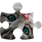 Cats puzzle (jigsaw) icon