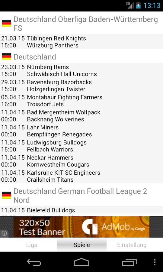 American Football Germany - screenshot