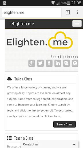 Elighten Me