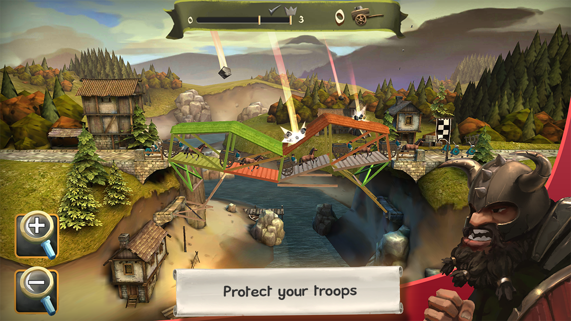 Bridge Constructor Medieval - screenshot