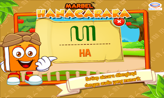 Screenshot of Marbel Belajar Hanacaraka