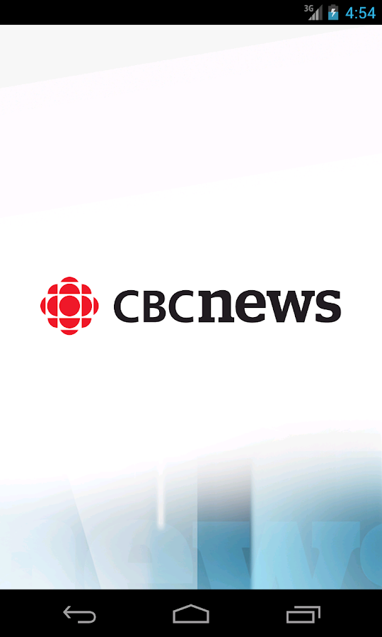 CBC News - screenshot