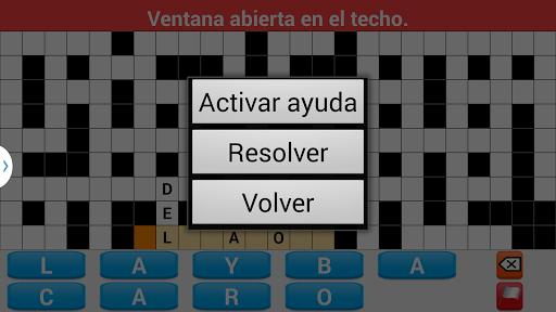 Crosswords spanish 2.3 screenshots 6
