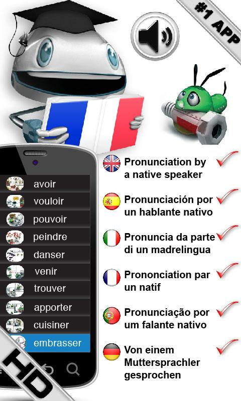 FREE French Verbs LearnBots - screenshot
