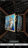 Screenshot of 3D Virgin Mary Live Wallpaper