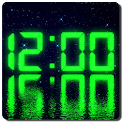 LED clock widget free icon
