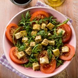 Tofu Arugula Salad