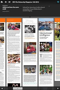 RIT: The University Magazine - screenshot thumbnail