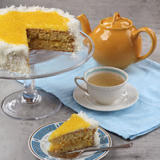 Pineapple Sponge Cake Dessert Recipes.
