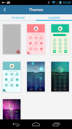 AppLock Theme Green 1.1 screenshot 6255