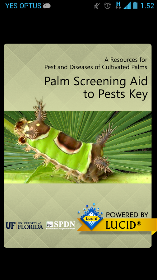 Palm Screening Aid Key- screenshot