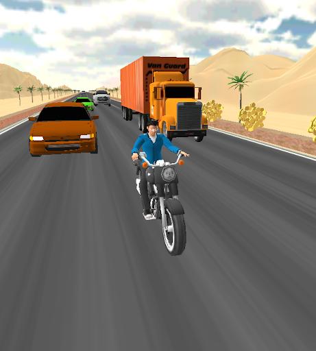 Bike Traffic Race