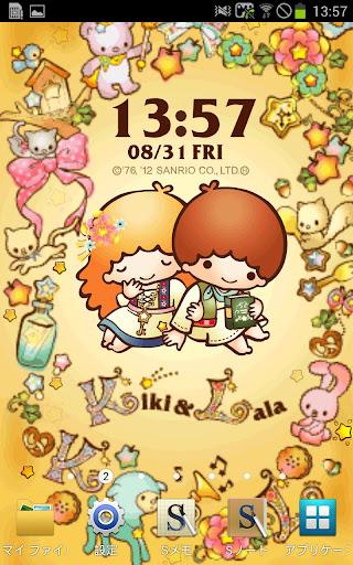[キキ&ララ]キキ&ララおとぎの森ライブ壁紙