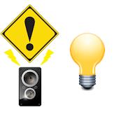 防犯・防災ブザー&LEDライト